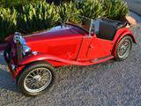 1948 MG TC Red Alex Haugland