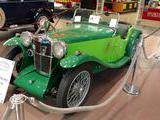 1934 MG P Type Midget Light Green Dark Green Alex Haugland
