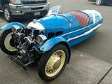 1935 Morgan 3 Wheeler Blue Alex Haugland